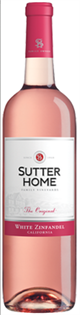 Sutter Home White Zinfandel 2015 750ml - Case of 15